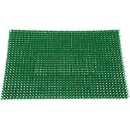 Schmutzfangmatte Step In, aus Polyethylen, für Innen und Außen, 570 x 860 mm, grün