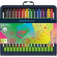 Schneider fineliner Link-Up 0,4 mm Box, diverse kleuren, 32 stuks
