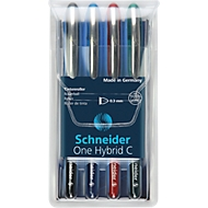 Schneider inktroller One Hybrid C, set van 4 gesorteerde kleuren