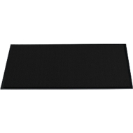 Schoonloopmat, 600 x 900 mm, zwart