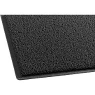 Schoonloopmat, 950 x 560 mm, zwart