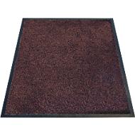 Schoonloopmat Karaat, High-Twist-nylon, 600 x 850 mm, bruin