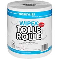 Schoonmaakdoekrol Wipex Great roll, 2-laags, wit, 447 vellen per rol, 6 rollen per doos
