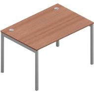 Schreibtisch ARLON-OFFICE, B 1200 x T 800 x H 730 mm, Nuss Canaletto
