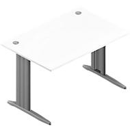 Schreibtisch ARLON-OFFICE, B 1200 x T 800 x H 730 mm, weiß