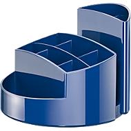 Schreibtisch-Köcher RONDO, blau