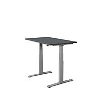 Schreibtisch SET UP, T-Fuß-Gestell, 1200x800, graphit