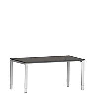 Schreibtisch Sincero Line, 4-Fuß, Breite 1600 mm, höhenverstellbar