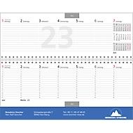 Schreibtischquerkalender