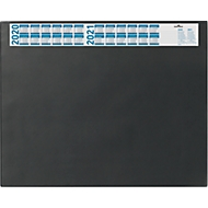 Schreibunterlage mit Kalender, schwarz