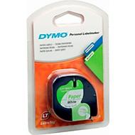 Schriftbandkassette für DYMO® Letra Tag, Papier, 12 mm, weiß