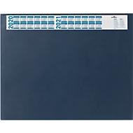 Schrijfonderlegger met kalender, blauw