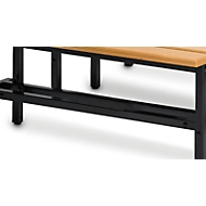Schuhrost, für Sitzbank, L 995 mm, schwarz
