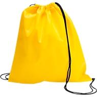 Schuhrucksack Modo, 370 x 400 mm, mit Non-Woven, mit Zugkordel, gelb