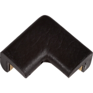 Schutzecke für Knuffi Eckschutzprofil Typ E, 2-schenkelig, Polyurethanschaum, schwarz