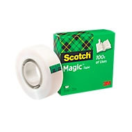 Scotch® Ruban adhésif Magic Tape, 12 mm x 33 m