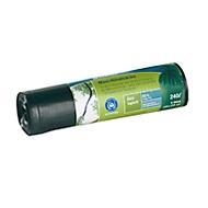 Secolan® zwaar belastbare afvalzakken COEX, 240 l, zwart, 5 stuks