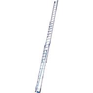 Seilzugleiter, 3teilig, 3 x 14 Sprossen