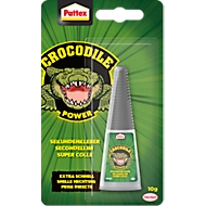 Sekundenkleber Pattex Crocodile Power, lösungsmittelfrei, Abbindezeit 5-30 Sek., transparent, 10 g