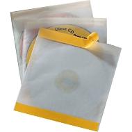 Selbstklebende CD-/DVD-Hülle, 10 Stück