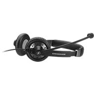 Sennheiser Headset SC 75, USB Control, Kabel 2,5 m, biegsamer Mikrofonarm