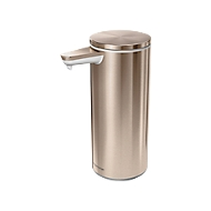 Sensor-Seifenspender USB, Kapazität 237 ml, Aufladung ü. USB-Kabel, roségold Stahl