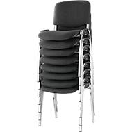Set 8 stapelstoelen ISO BASIC