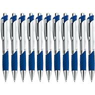 SET Druckkugelschreiber Leon, 400teiliges, blau, inklusive einfarbigem Werbedruck