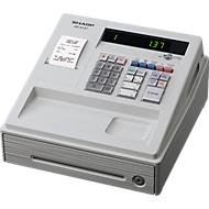SHARP® Elektronische Registrierkasse XE-A137, GoBD/GDPdU-konform, lichtgrau