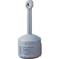 Sicherheits-Standascher, robuster, brandhemmender Kunststoff, Innenbehälter 15 Ltr., grau