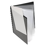 Sichtbuch FolderSys, A4, 20 Hüllen, 12 Ringe, T-Stanzung, mit Fronttasche
