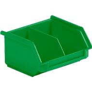 Sichtlagerkasten SSI Schäfer LF 110M, Polypropylen, L 92 x B 100 x H 50 mm, 0,26 l, grün