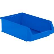 Sichtlagerkasten SSI Schäfer LF 531, Polypropylen, L 500 x B 312 x H 145 mm, 16,5 l, blau