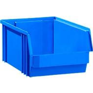 Sichtlagerkasten SSI Schäfer TF 14/7-4, Polypropylen, L 230 x B 150 x H 122 mm, 2,6 l, blau, ab 1 Stück