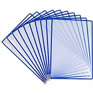 Sichttafel Tarifold Easy Load Pro, DIN A4, 10 St., Eckverschluss, Metalldrehzapfen, blau