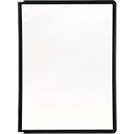 Sichttafeln A4, 5 Stück, schwarz