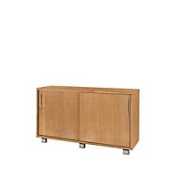 Sideboard SINCERO LINE mit Schüben und Türen, B 1200mm x T 500mm x H 720mm, Buche-Dekor