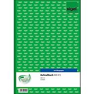 sigel® Aufmaßbuch mit Blaupapier AM415, DIN A4 hoch, 50 Blatt