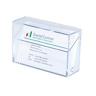 sigel® box voor visitekaartjes 85 x 56 mm, stuk