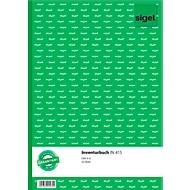 sigel® Inventurbuch IN415, DIN A4 hoch, 50 Blatt