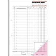 sigel® Kassenabrechnung KG425, DIN A4 hoch, 2 x 50 Blatt
