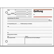 sigel® Quittungen mit MWSt.-Nachweis QU615, DIN A6 quer, 50 Blatt