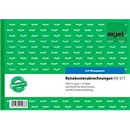 sigel® Reisekostenabrechnung RA517, DIN A5 hoch, 50 Blatt, wöchentlich, mit Blaupapier