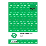 sigel® Telefon-Notiz TN515, DIN A5 hoch, 50 Blatt