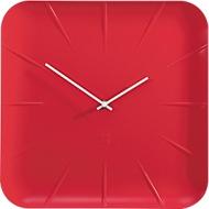 Sigel wandklok artetempus®, 350 mm, rood