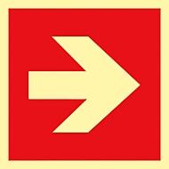 Signal. flèche HLF, 1 p.