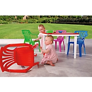 Sitzgarnitur für Kinder, 5tlg., weiß/bunt