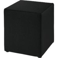 Sitzhocker Wall In, B 410 x T 410 mm, schwarz
