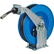 Slanghaspel, automatisch, voor olie en diesel, lengte 12 meter, staalplaat, automatische slanghaspel
