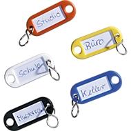 Sleutelhangers en sleutelhangers, 16 gekleurde onderdelen, kunststof